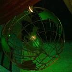 Deutsches Auswanderer Haus in Bremerhaven: Beleuchtung der Weltkugel mit RGB LED Strahlern